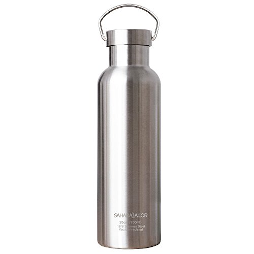 2b8dc72b43 ... Wall Insulated Water Bottle, 25 Oz. Top quality: don't settle for low  quality look alikes! durable construction with 18/8 food grade stainless  steel ...